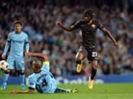 Ashley Cole and Arsenal flop Gervinho cause Manchester City problems as Roma provide a tough challenge at the Etihad